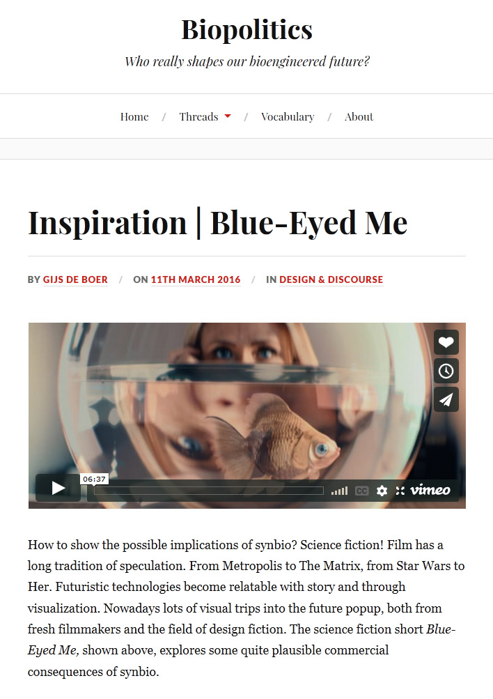Blue-Eyed Me by Alexey Marfin - Biopolitics.NL